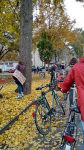 fahrraddemo marburg wilhelmsplatz