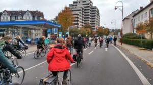 fahrraddemo marburg schwanallee